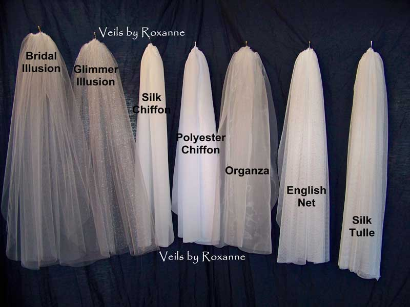 Types Of Wedding Dresses Materials List
