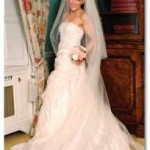 2 tier cathedral length bridal veil
