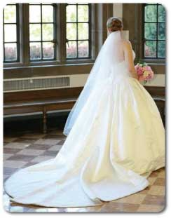 Waltz wedding veil