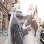 Custom made cathedral veils