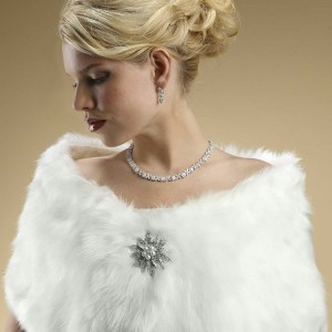 Faux Fur Wrap 116W