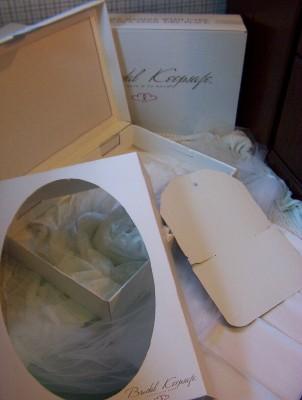 Diy wedding dress preservation box for Acid free boxes for wedding dresses