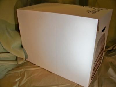 Set Of 3 Clothing Storage Boxes Acid Free Tissue Paper
