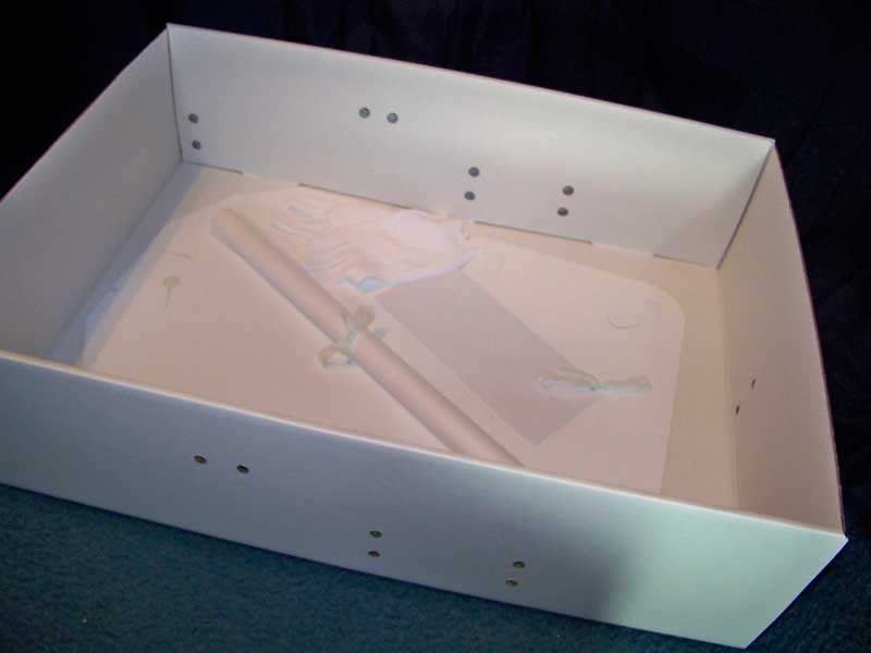 Mid size wedding dress preservation kit bridal gown for Acid free boxes for wedding dresses