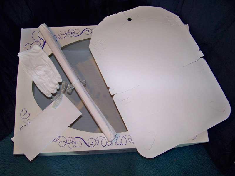 Mid size wedding dress preservation kit bridal gown for Wedding dress preservation cost